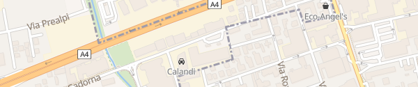 Karte Via Luigi Cadorna Cormano