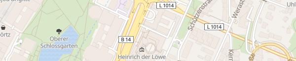 Karte Parkhaus Staatsgalerie Stuttgart