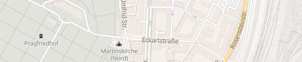 Karte EnBW Ladesäule Stuttgart