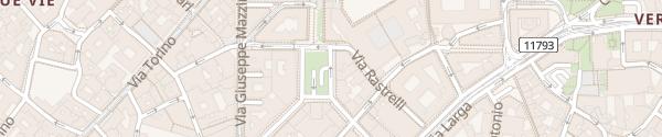 Karte Parkhaus Autosilo Diaz Milano