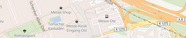 Karte Messe Stuttgart Stuttgart