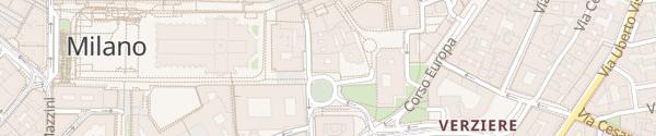 Karte Starhotels Rosa Grand Milano