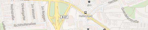 Karte Alfred-Kercher-Bad Kornwestheim