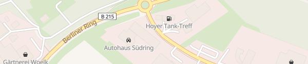 Karte Autohaus Südring Nienburg