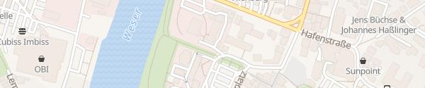 Karte Betriebshof Avacon Nienburg