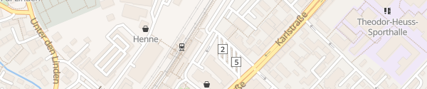 Karte Parkplatz Busbahnhof Reutlingen