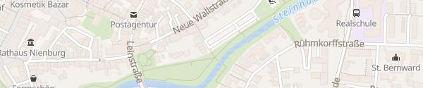 Karte Parkplatz Neumarkt Nienburg