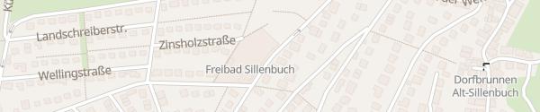 Karte Freibad Sillenbuch Stuttgart