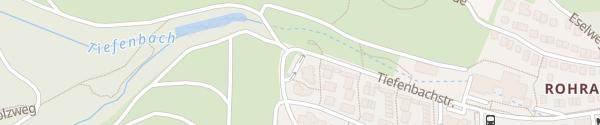 Karte Weinklinge Stuttgart