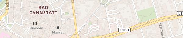 Karte König-Karl-Straße Stuttgart