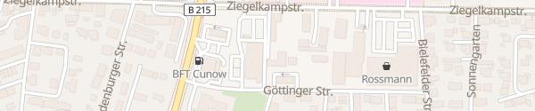 Karte Bürgel GmbH - Betriebshof Nienburg