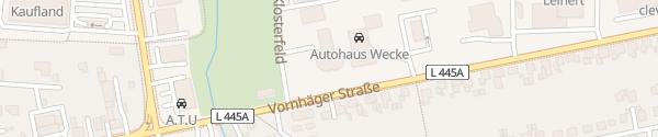 Karte BMW Autohaus Becker-Tiemann Stadthagen
