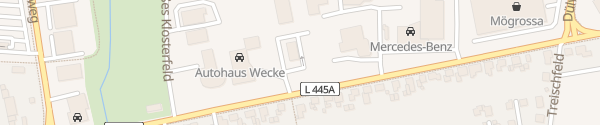 Karte Burger King Stadthagen