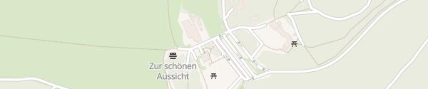 Karte E-Bike Ladestation Berghütte Hoherodskopfklause Schotten