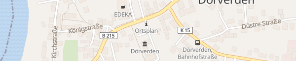 Karte Rathaus Dörverden