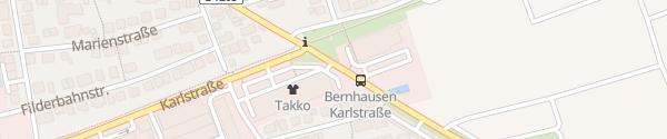 Karte Filder-Center Filderstadt
