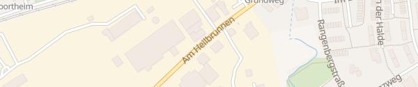 Karte Mini Autohaus Menton Reutlingen