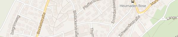 Karte Heumaden Stuttgart