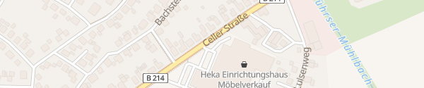 Karte Heka Möbel Nienburg