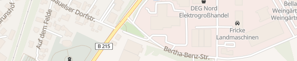 Karte Mercedes Autohaus Anders Verden
