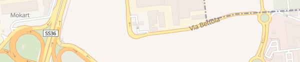 Karte Tankstelle Q8easy Cinisello Balsamo