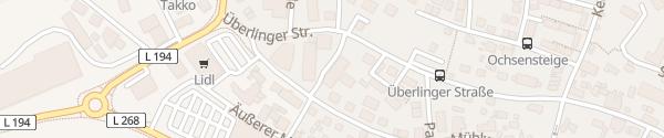 Karte Sigmaringer Straße Pfullendorf