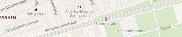 Karte Albertus-Magnus-Gymnasium Stuttgart