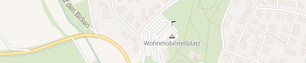 Karte Kurpark Rosengarten Bad Emstal