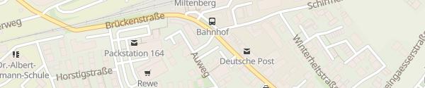 Karte Parkplatz Raiffeisen-Volksbank Miltenberg