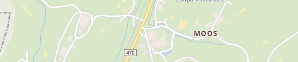 Karte Golfpark Waldkirch