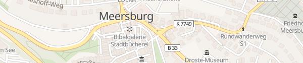 Karte Stettener Straße Meersburg