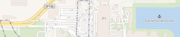 Karte Flughafen Mailand Linate Novegro-Tregarezzo