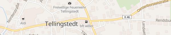 Karte Marktplatz Tellingstedt