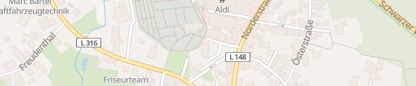 Karte Ev.-Luth. Kirchengemeinde Albersdorf