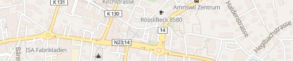 Karte Marktplatz Amriswil