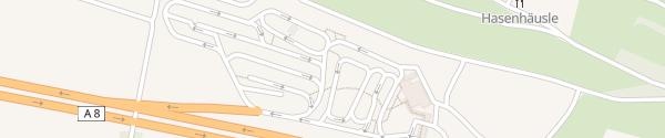 Karte IONITY Denkendorf Nord Denkendorf