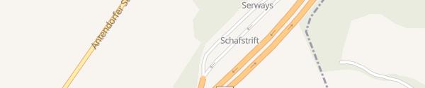Karte Schafstrift Nord Auetal