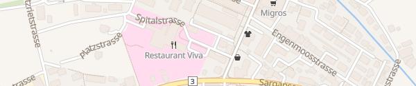 Karte Spital Walenstadt