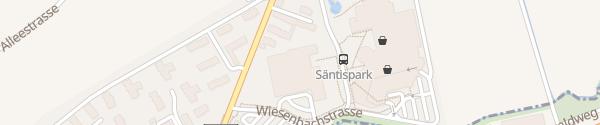 Karte Hotel Säntispark Abtwil