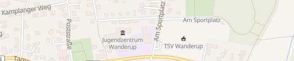 Karte Grundschule Wanderup