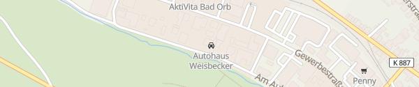 Karte Mitsubishi Autohaus Weisbecker Bad Orb