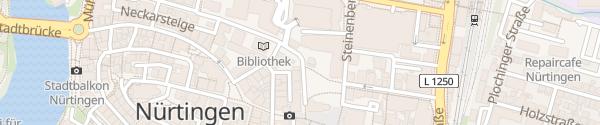 Karte K3N Neue Stadthalle Nürtingen