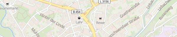 Karte REWE Neukirchen