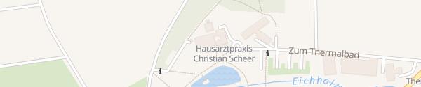 Karte E-Bike Ladesäule Thermalbad Herbstein