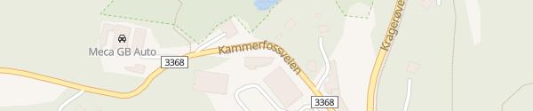 Karte Fortum Schnellladesäule Kragerø