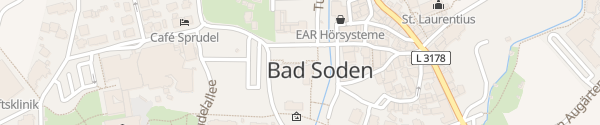 Karte E-Bike Ladesäule Bad Soden-Salmünster
