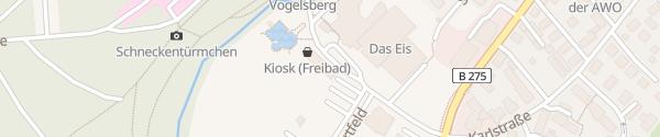 Karte Freizeitzentrum Lauterbach