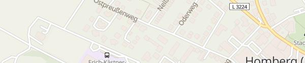 Karte KBG Homberg (Efze)