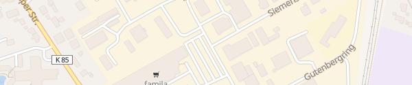 Karte Famila Tarp