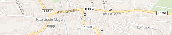 Karte Rathaus Aspach